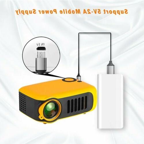 Mini HD 1080P Pocket Projector Projectors HDMI