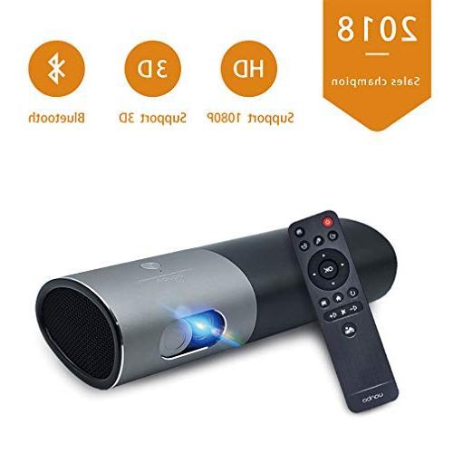 mini portable projector home theatre