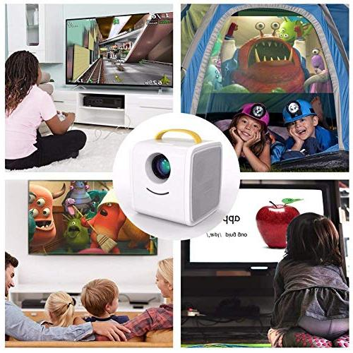 Mini Projector Home Kids