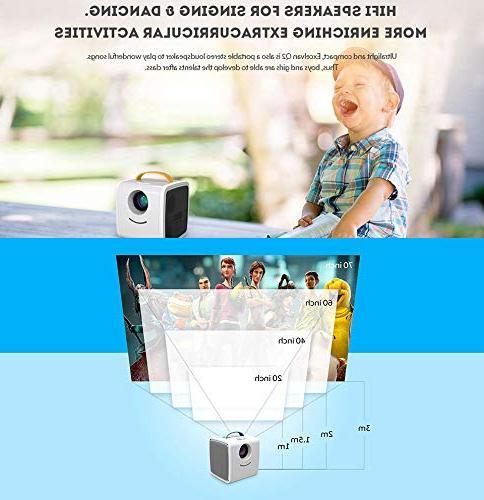 Mini Portable Home Theater Kids