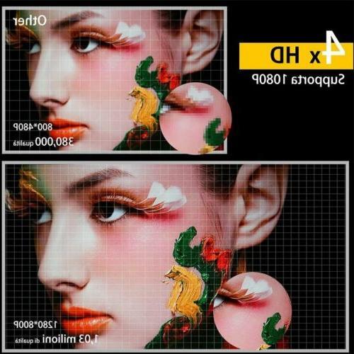 Mini Screen Projector 3D Home Video Projector