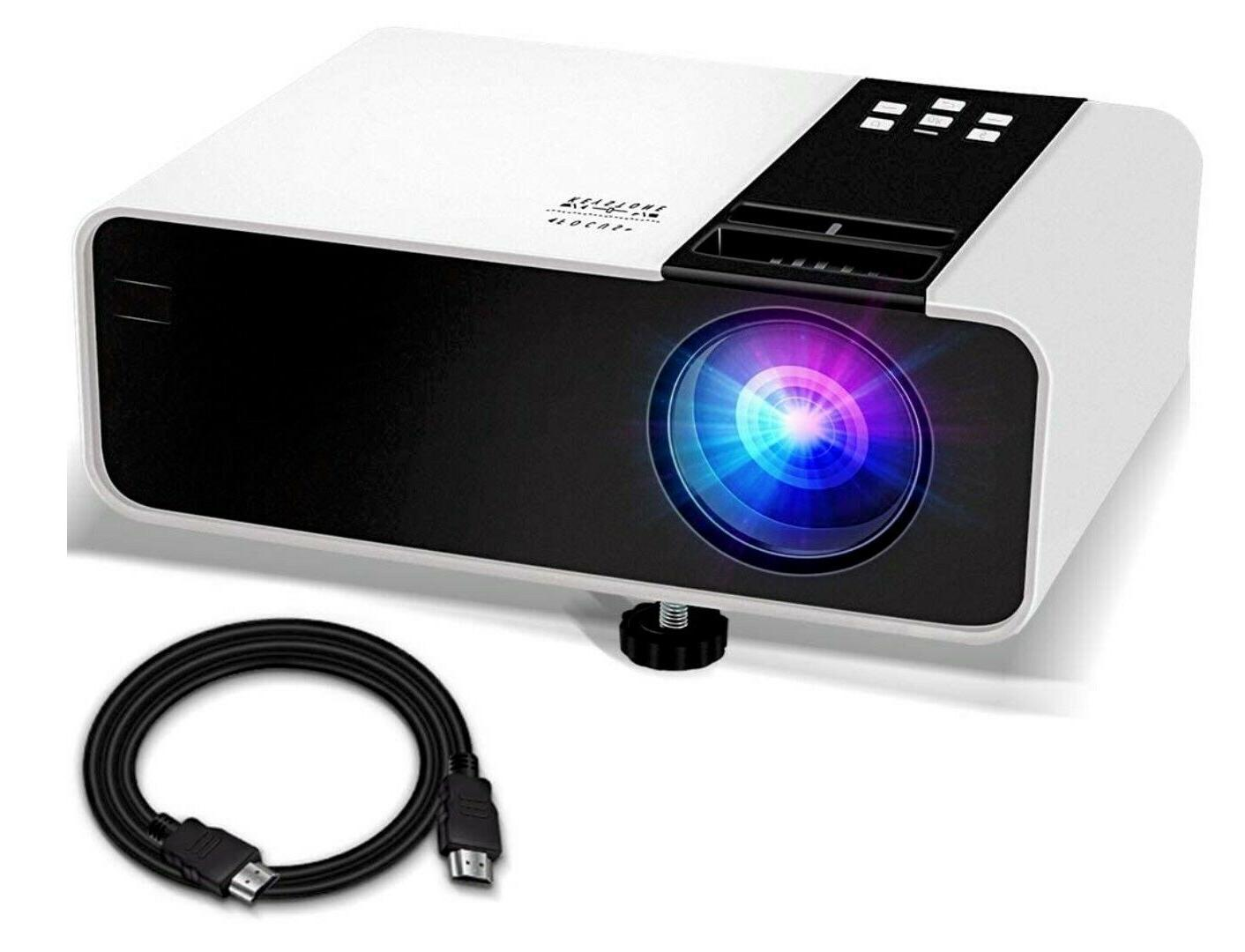 mini projector 1080p hd supported 4500 lux