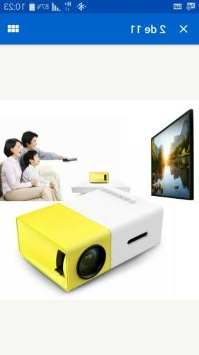 mini projector 1080p led portable home theater