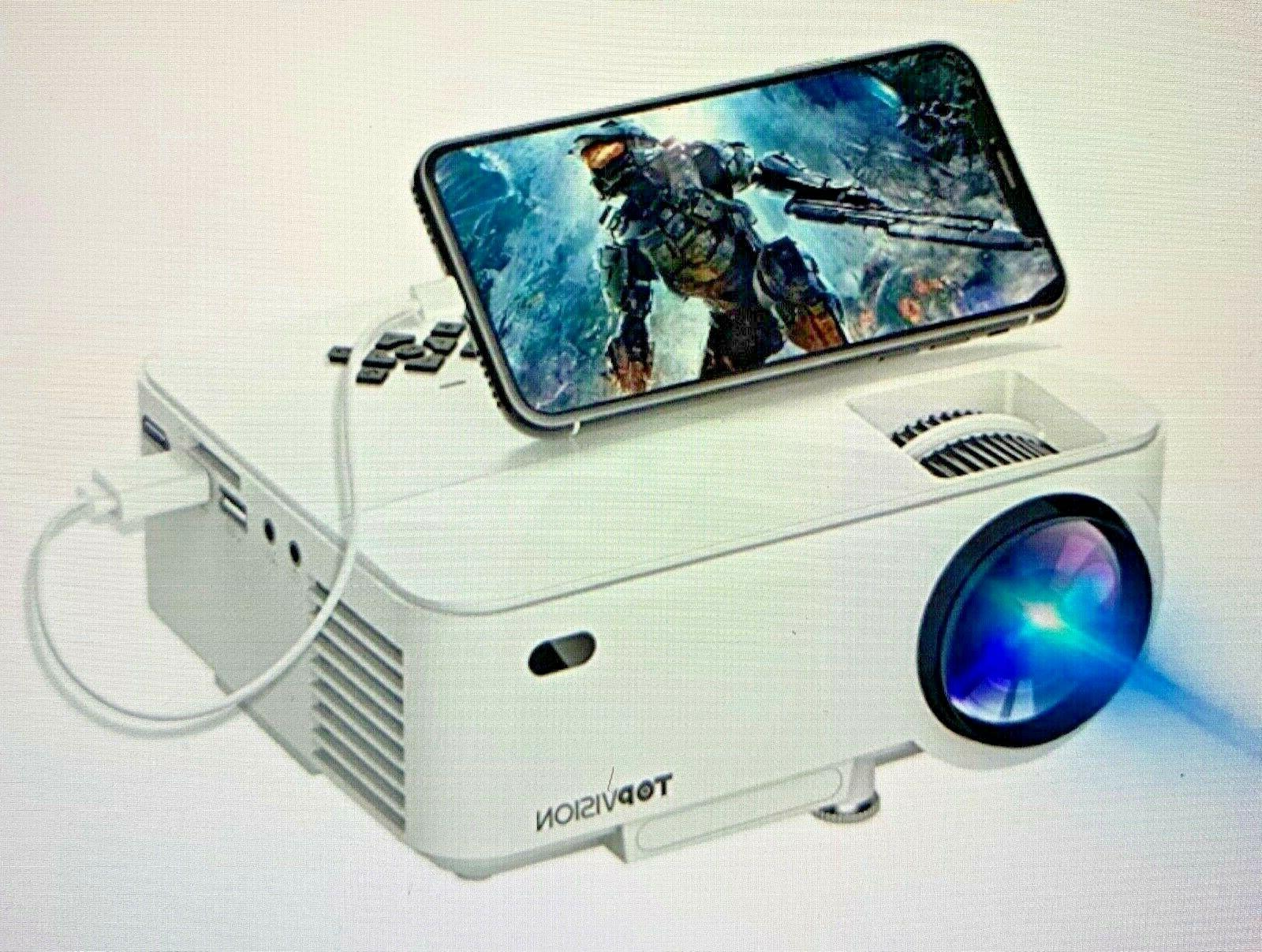 mini projector 2400lux projector with synchronize smart