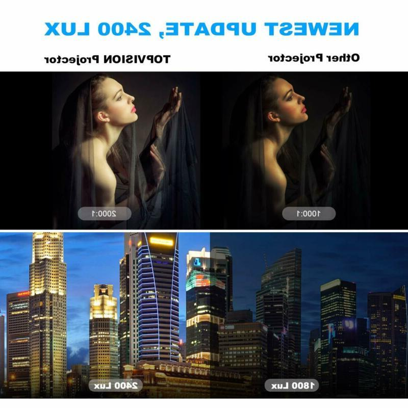 T 2400Lux Projector Smart Phone Scree