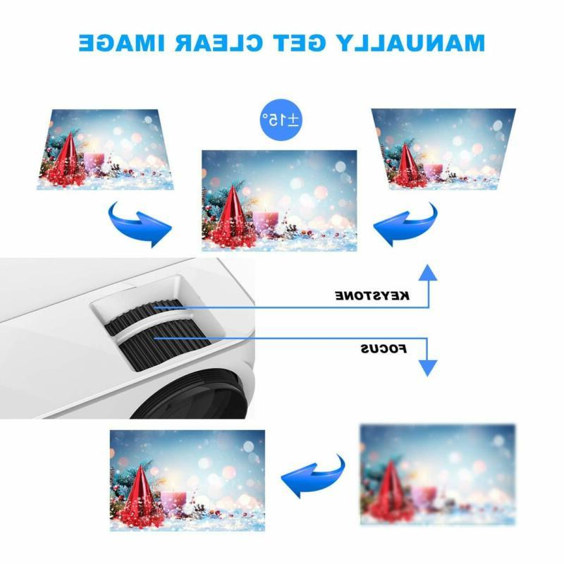 T Topvision 2400Lux Projector With Smart Scree