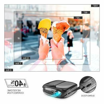 Mini Projector ELEPHAS 2600 Lumen Wi-Fi Home