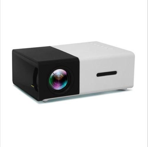 Mini Fosa Portable LED Projector Theater Supprot Input Video Movie Pico projector