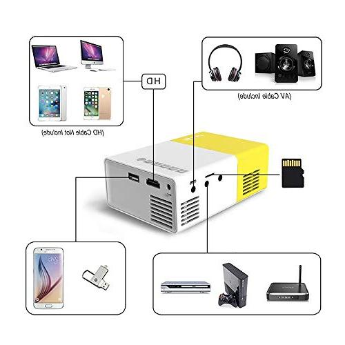 LED Support Laptop USB Input for Video Projector- Best