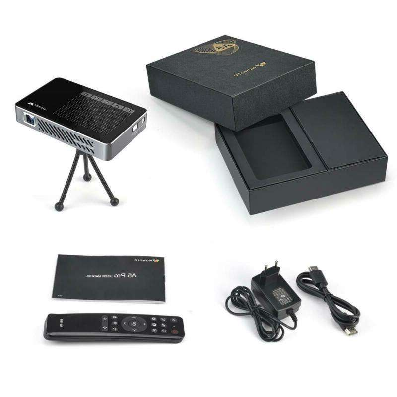 Mini Projector Pro 100ASIN 7.1 Portable DLP Video 15