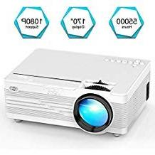 Mini Projector, YABER LED Projector Home Theater Entertainme