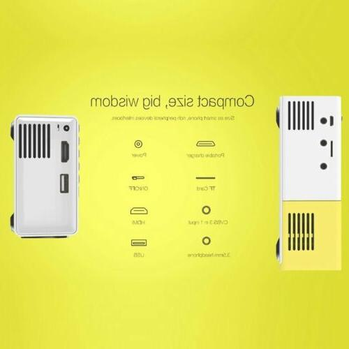 Led Projector Lumihd High Resolution Portable HD Home A
