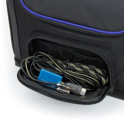 USA Case - S7 Small Portable Travel DR.J ABOX T22, Meyoung TC80, M1 - Shoulder Strap, Dividers