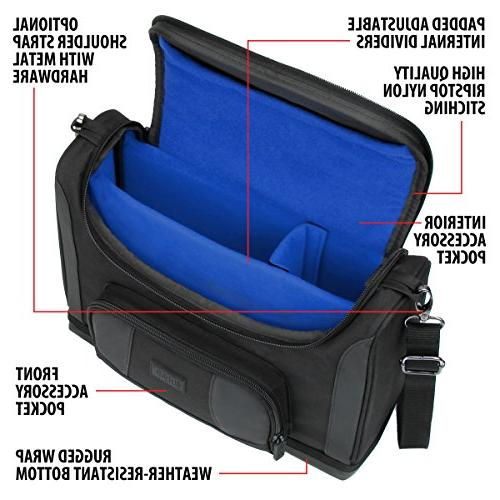 USA Gear Case S7 Small Travel DR.J HI-04, ABOX T22, Meyoung TC80, - Strap, Dividers