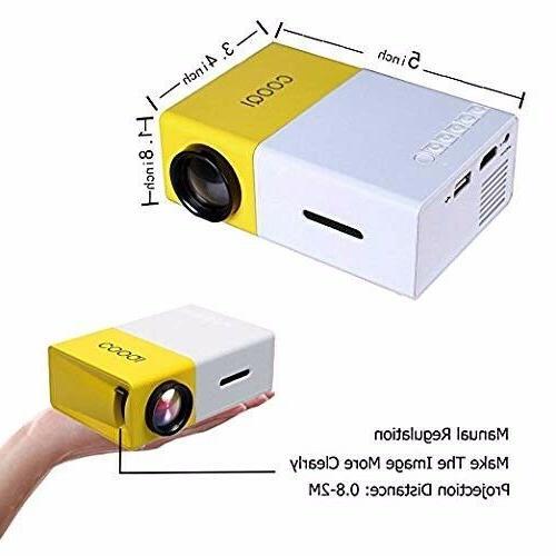Mini DeepLee Portable LED PC