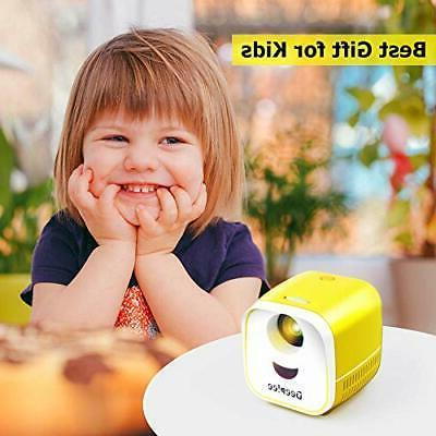 Mini Projector, Portable Projector for Kids LED Pocket Projectors