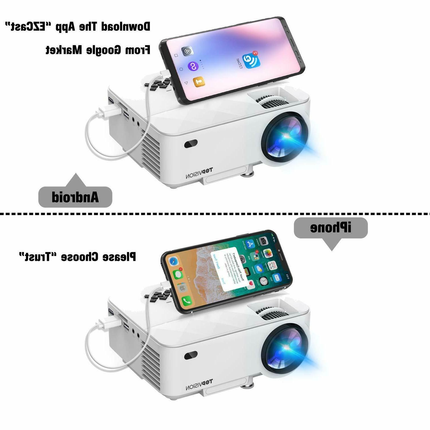 Mini Projector For Iphone Android System Mobile Cinem