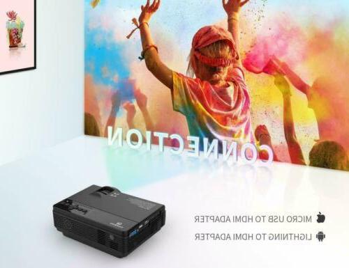 VANKYO Mini HD 1080P 2400 Lux Theater