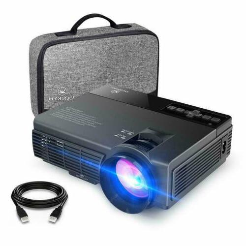 mini projector full hd 1080p supported 2400