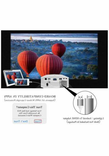 ELEPHAS Theater LED Video with AV USB Micro SD