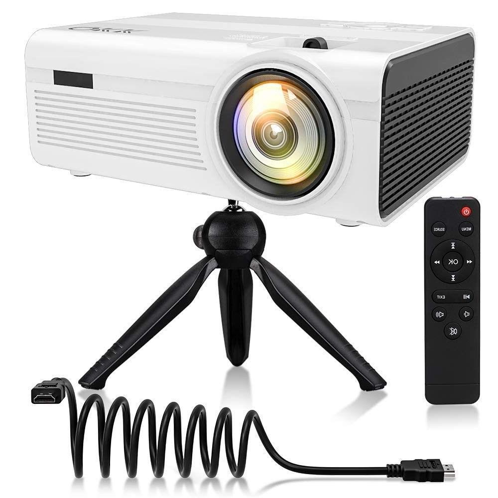 mini projector home theater projector qkk 2400