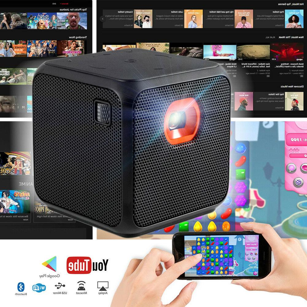 mini projector home theater wifi bluetooth portable