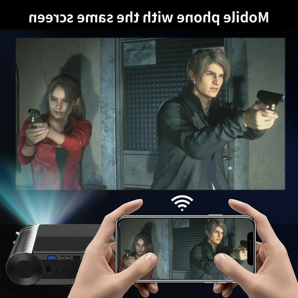 CRENOVA Mini Full HD 1080p Wireless Sync lumens
