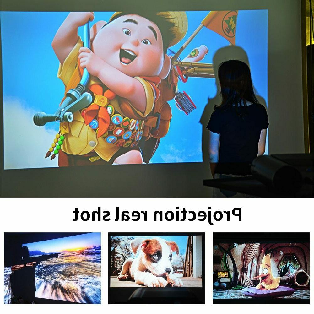 CRENOVA Mini projector LED Full HD 1280x720 1080p 2800 lumens