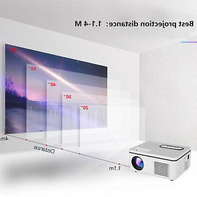 Mini AV USB TF HD 1080P Video Home Cinema