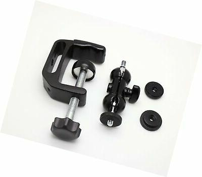 Mini Adjustable Clamp Mount Stand for Projector