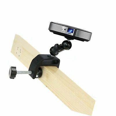 mini projector mount angle adjustable clamp mount