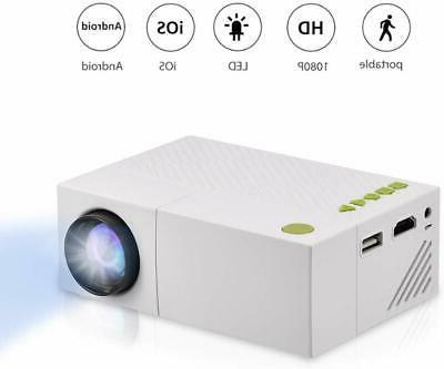 mini projector portable 1080p led projector