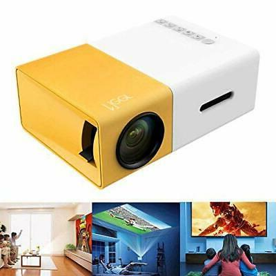 Mini Projector, Portable Color LED Projector for