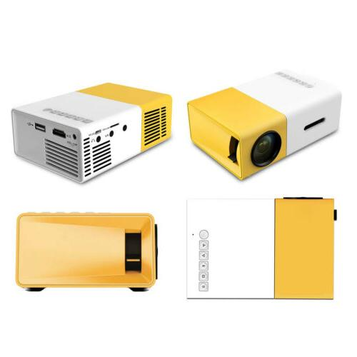 Color LED LCD Video Projector Children