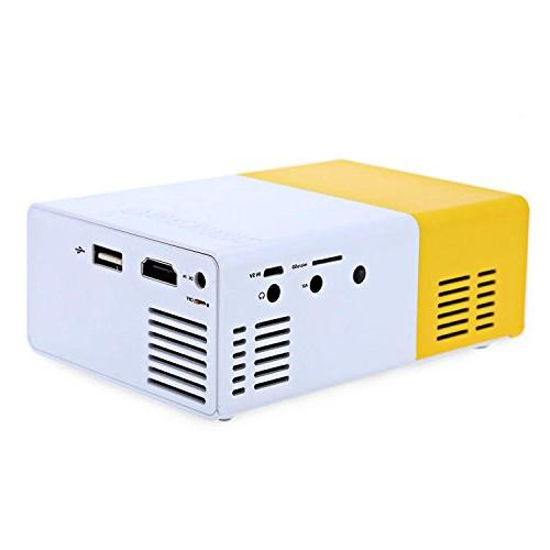 LightInTheBox Mini LCD Projector Portable -YG300 Interface