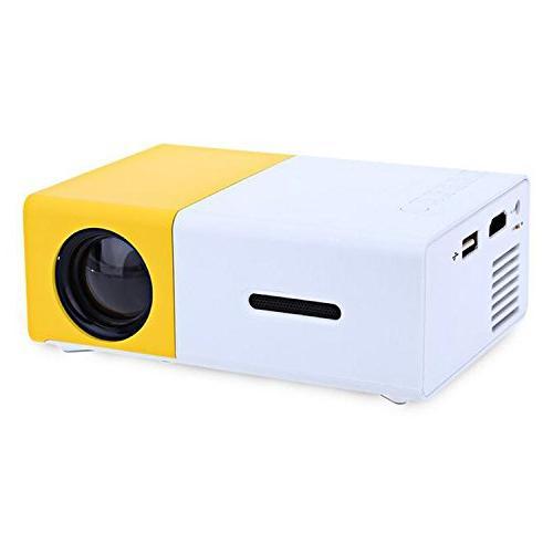 mini projector portable support av