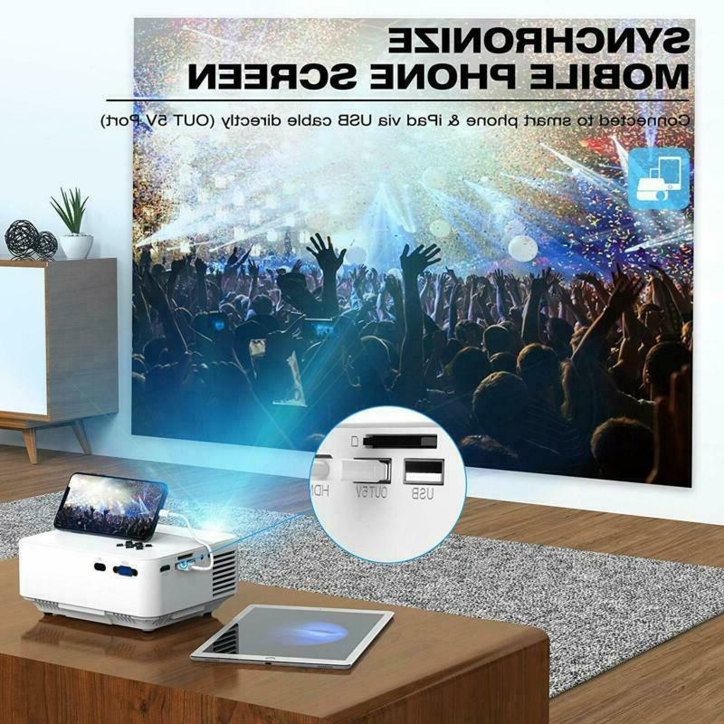 Projector With Synchronize Phone
