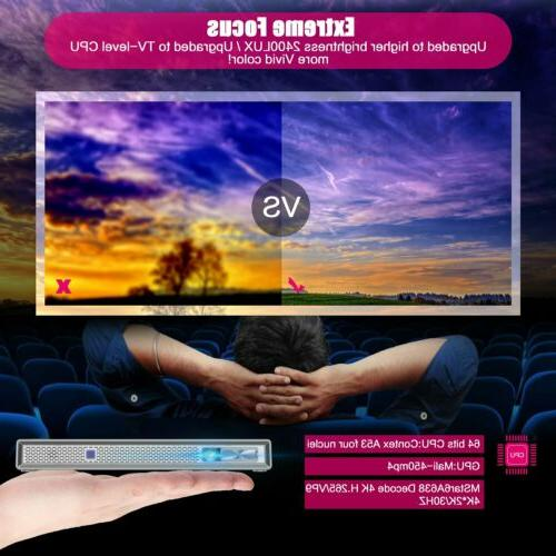 Mini Projector TOUMEI T5 Android DLP-LINK