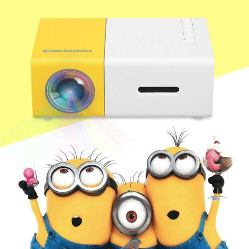 Mini Projector 1080p AV, USB, Card, Theatre