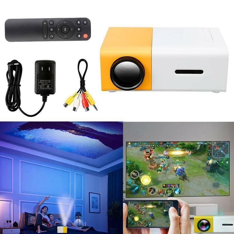 Portable Mini YG300 pocket projectors proyector LED projecto