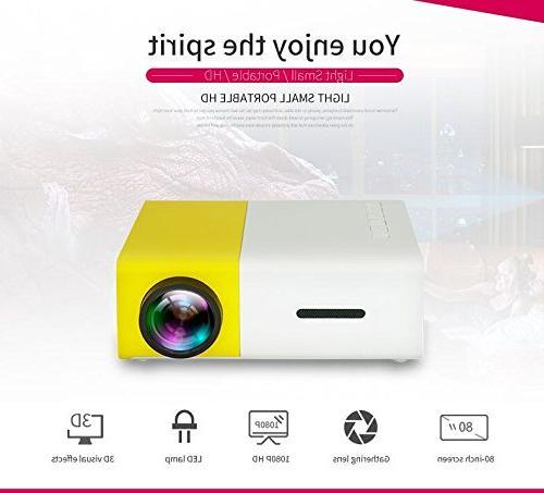 YOUYUAN LCD MINI YG300 320x240 Pixel HDMI USB USB/SD/AV/HDMI theater