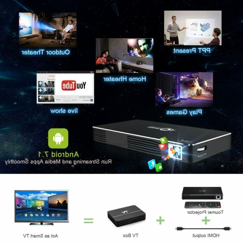 Mini projectors Android system mobile home player, wired /