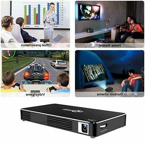 Mini projectors Android 7.1 system home player,