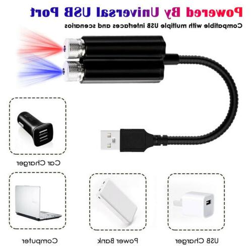 Mini USB Car Atmosphere Star Projector
