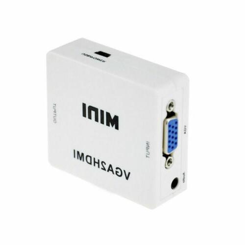 Mini VGA To Converter Connector For Projector
