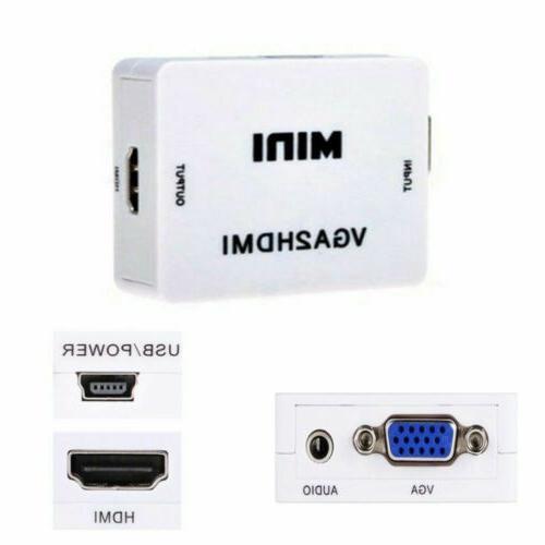 Mini Converter Audio Connector Projector