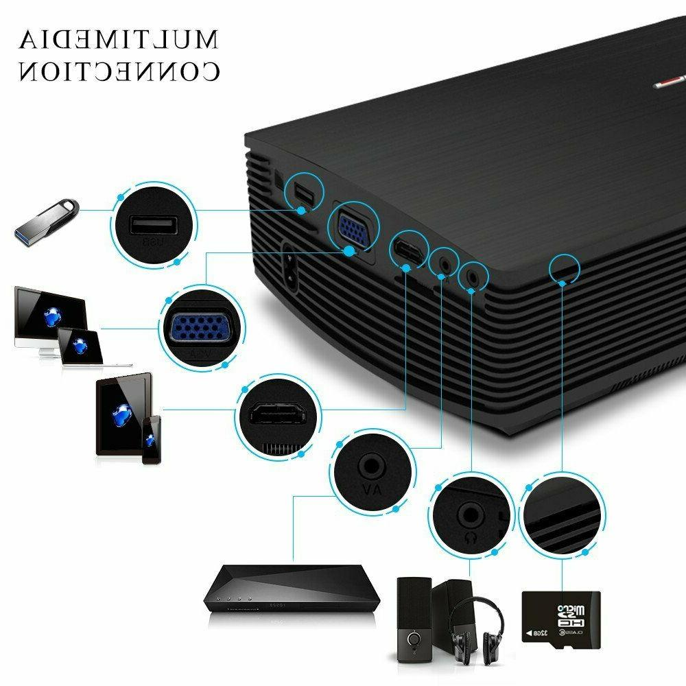 GooDee Mini Video Projector 2018