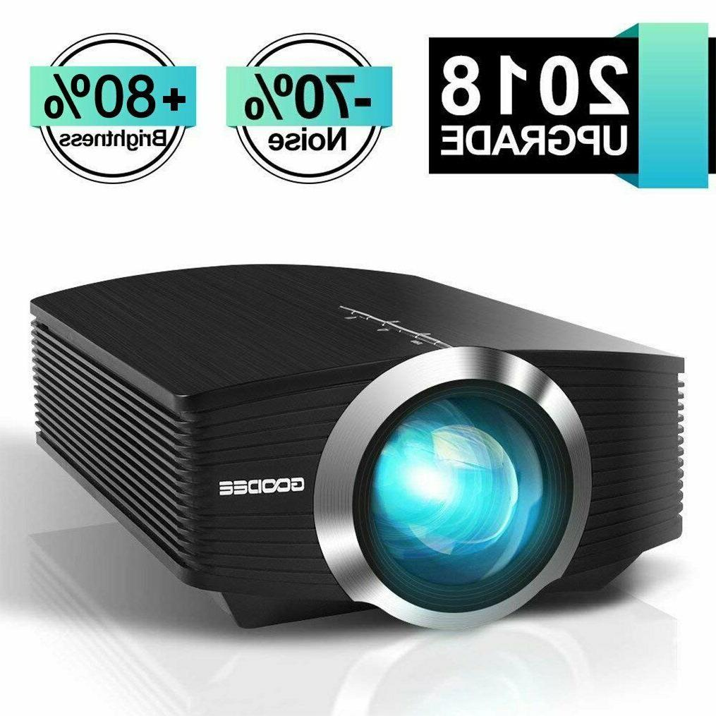 mini video projector 2018 upgraded version