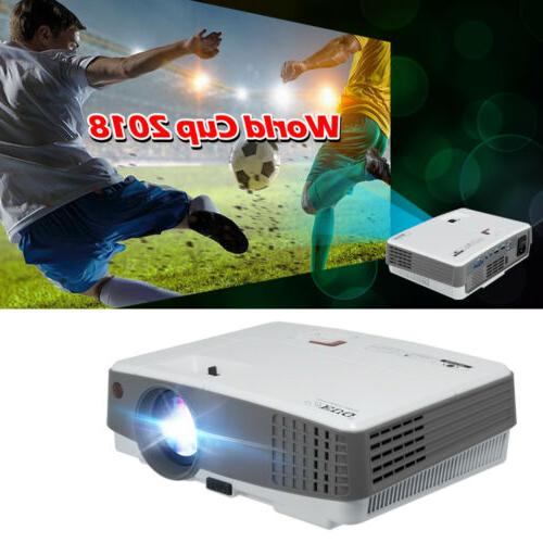 mini video projector 3600lms portable home theater