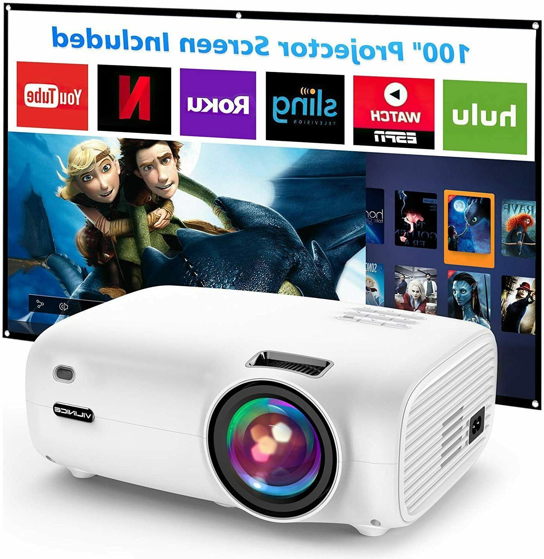 mini video projector 5500l projector w 100